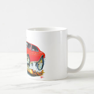 1968年のCamaroの赤黒い車 コーヒーマグカップ