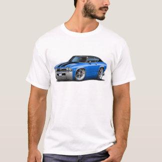 1968年のChevelleの青黒いストライプ Tシャツ