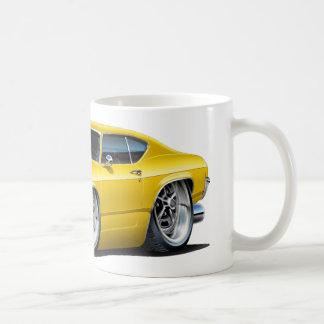 1968年のChevelleの黄色い車 コーヒーマグカップ