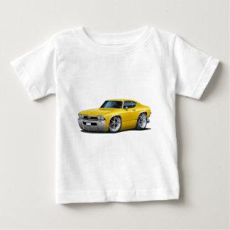 1968年のChevelleの黄色い車 ベビーTシャツ