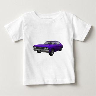 1968年のChevelle SS: 紫色の終わり ベビーTシャツ