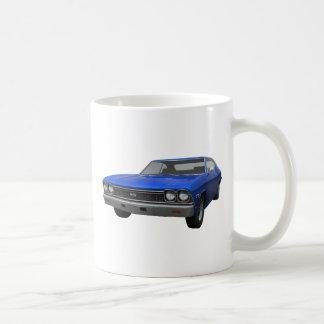 1968年のChevelle SS: 青い終わり コーヒーマグカップ