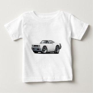 1968年のCoronet RTの白黒い車 ベビーTシャツ
