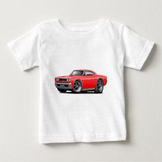 1968年のCoronet RTの赤車 ベビーTシャツ