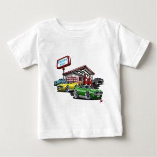1968年のFirebirdの給油所 ベビーTシャツ