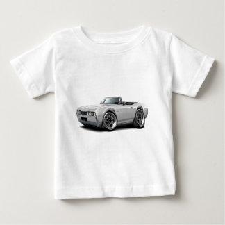 1968年のOlds 442の白いコンバーチブル ベビーTシャツ