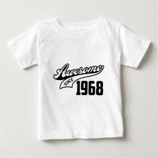 1968年以来素晴らしい ベビーTシャツ