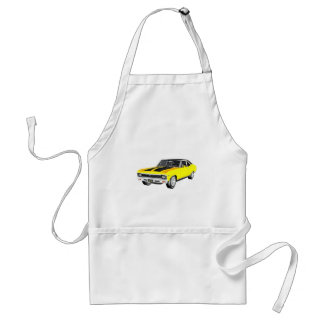 1968黄色い筋肉車 スタンダードエプロン