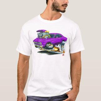 1968-69年のプリマスGTXの紫色車 Tシャツ