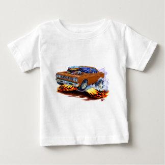 1968-69年のロードランナーのブラウン車 ベビーTシャツ