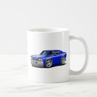 1968-69年のChevelleの青白の車 コーヒーマグカップ