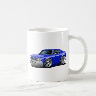 1968-69年のChevelleの青車 コーヒーマグカップ