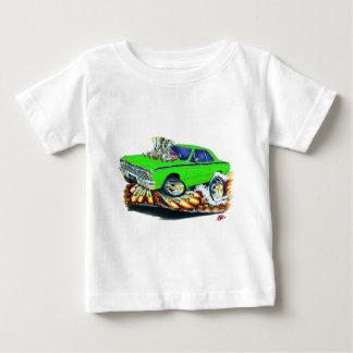 1968-71ごまかしの投げ矢のライム車 ベビーTシャツ