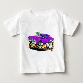 1968-71ごまかしの投げ矢の紫色車 ベビーTシャツ