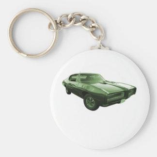 1968 GTO筋肉車 キーホルダー