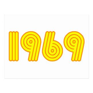 1969デザイン(第40誕生日) ポストカード
