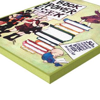 1969人の児童読書週間のキャンバス キャンバスプリント