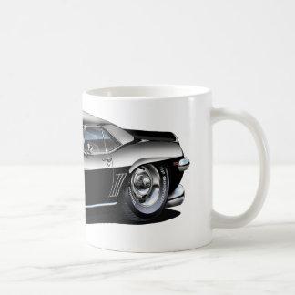 1969年のCamaroの白黒車 コーヒーマグカップ