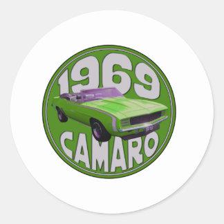 1969年のCamaro SSのライム機械 ラウンドシール