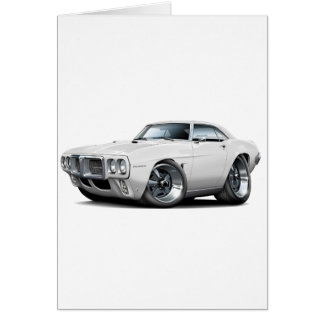 1969年のFirebirdの白車 カード