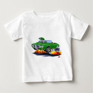 1969年のFirebirdの緑のコンバーチブル ベビーTシャツ