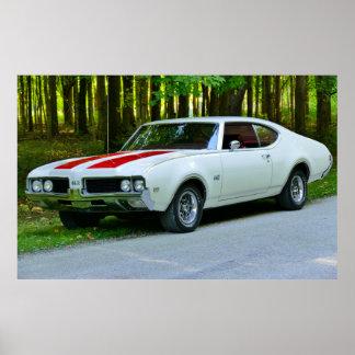 1969年のOldsmobile 442 ポスター