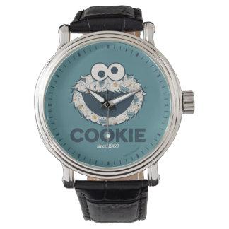 1969年以来のクッキーモンスター|のクッキー 腕時計