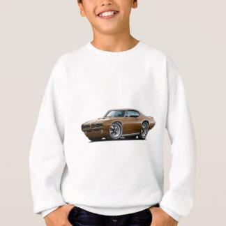 1969 GTOの裁判官のブラウンによって隠されるヘッドライト車 スウェットシャツ