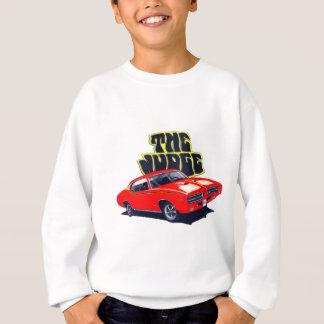 1969 GTOの裁判官の赤車 スウェットシャツ