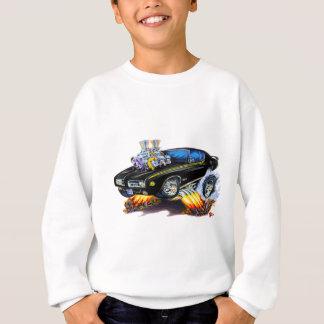 1969 GTOの裁判官の黒車 スウェットシャツ