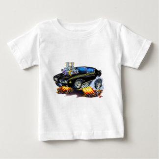 1969 GTOの裁判官の黒車 ベビーTシャツ