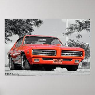 1969 GTOの裁判官 ポスター