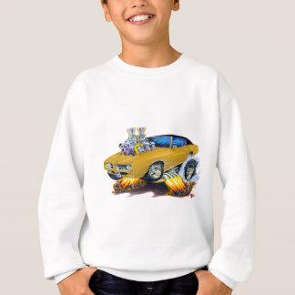 1969 GTOの金ゴールド車 スウェットシャツ