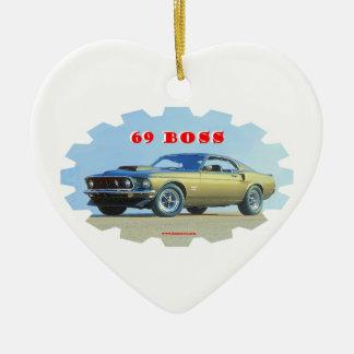 1969_Mustang セラミックオーナメント