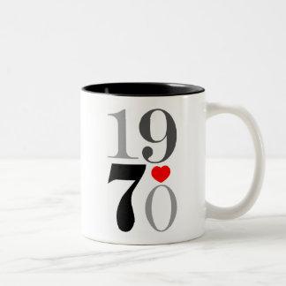 1970グラフィック ツートーンマグカップ