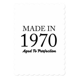 1970年に作られる カード