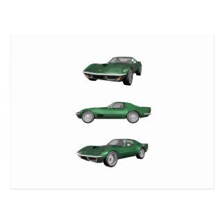 1970年のコルベット: 緑の終わり ポストカード