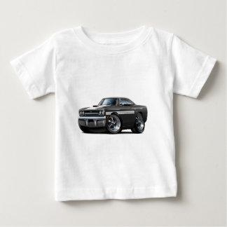 1970年のプリマスGTXの白黒車 ベビーTシャツ