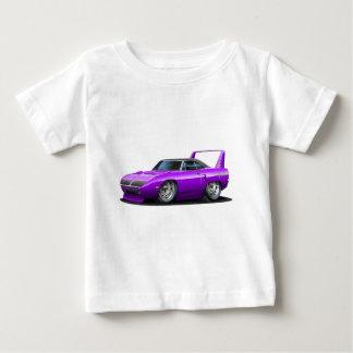 1970年のプリマスSuperbirdの紫色車 ベビーTシャツ