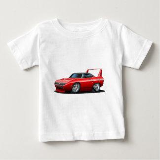 1970年のプリマスSuperbirdの赤車 ベビーTシャツ