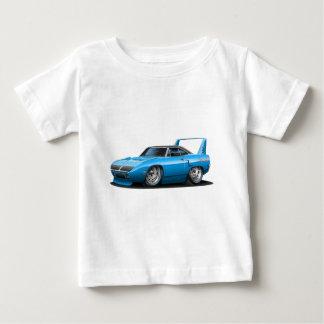 1970年のプリマスSuperbirdの青車 ベビーTシャツ