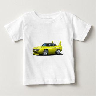 1970年のプリマスSuperbirdの黄色い車 ベビーTシャツ