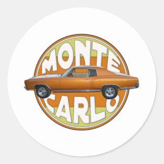 1970年のモンテカルロの銅のラクダ ラウンドシール