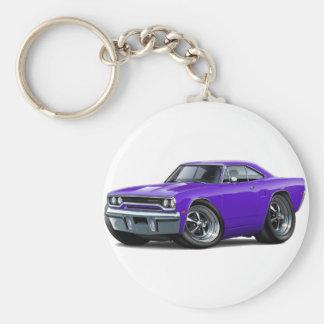 1970年のロードランナーの紫色車 キーホルダー