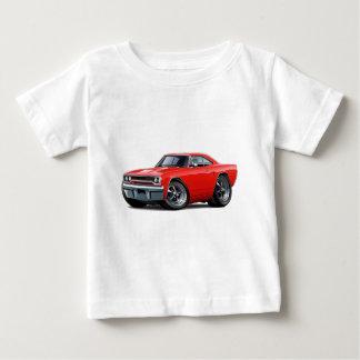 1970年のロードランナーの赤車 ベビーTシャツ