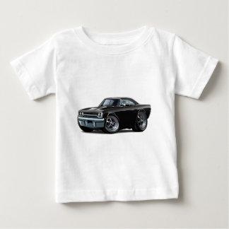 1970年のロードランナーの黒い車 ベビーTシャツ