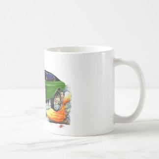 1970年のChevelleの緑黒い車 コーヒーマグカップ
