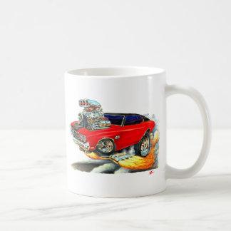 1970年のChevelleの赤黒い上車 コーヒーマグカップ