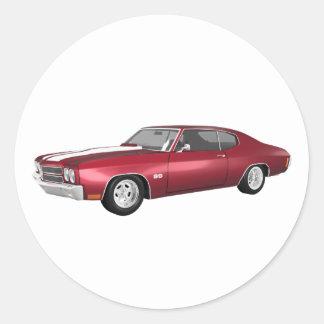 1970年のChevelle SS: リンゴ飴の終わり: ラウンドシール