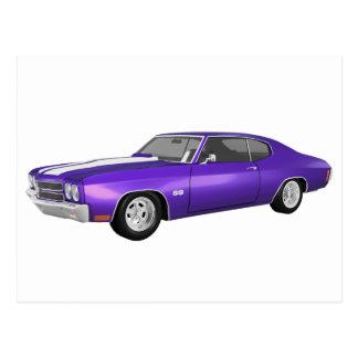 1970年のChevelle SS: 紫色の終わり: ポストカード